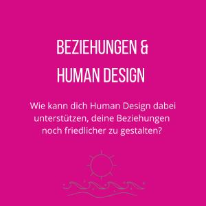 Human Design und Beziehungen