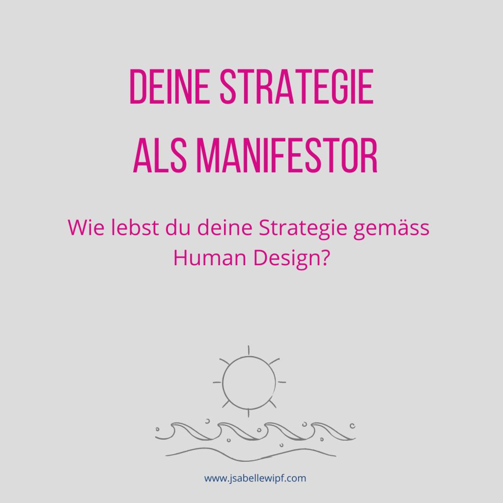 HD Strategie Manifestor