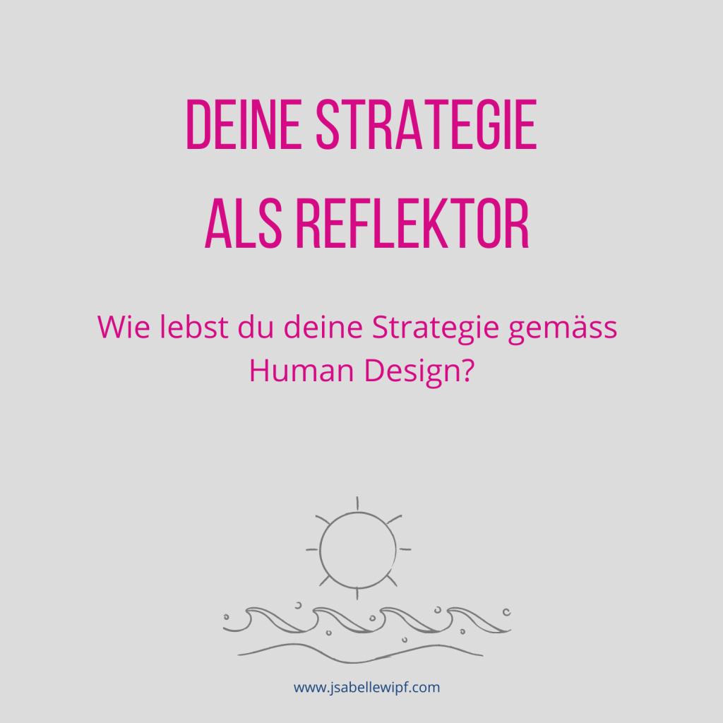 HD Strategie Reflektor